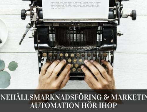 Innehållsmarknadsföring och marketing automation hör ihop