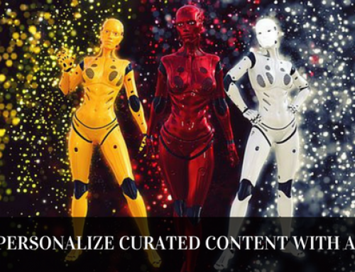 Send one-to-one personalized curated content at scale with AI