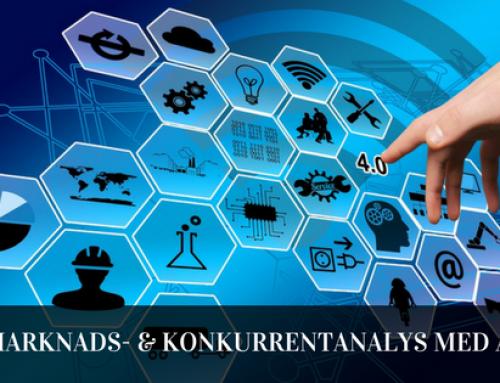 Marknads- och konkurrentanalys med artificiell intelligens