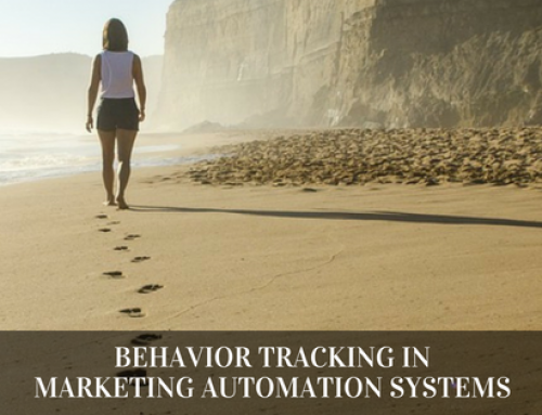 Behavior Tracking Using Marketing Automation Systems